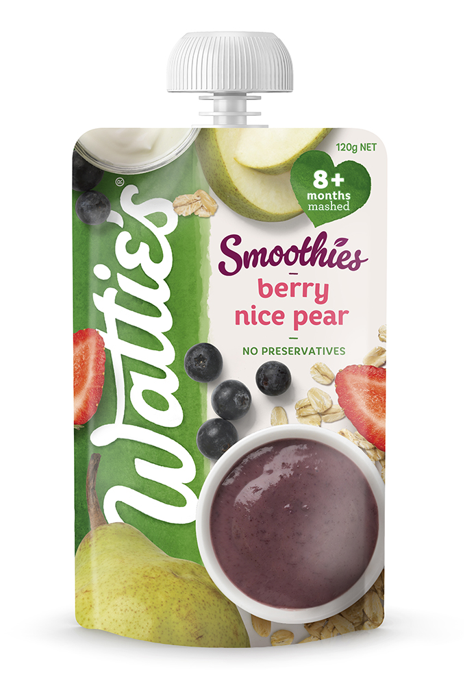 Wattie's Smoothies Berry Nice Pear