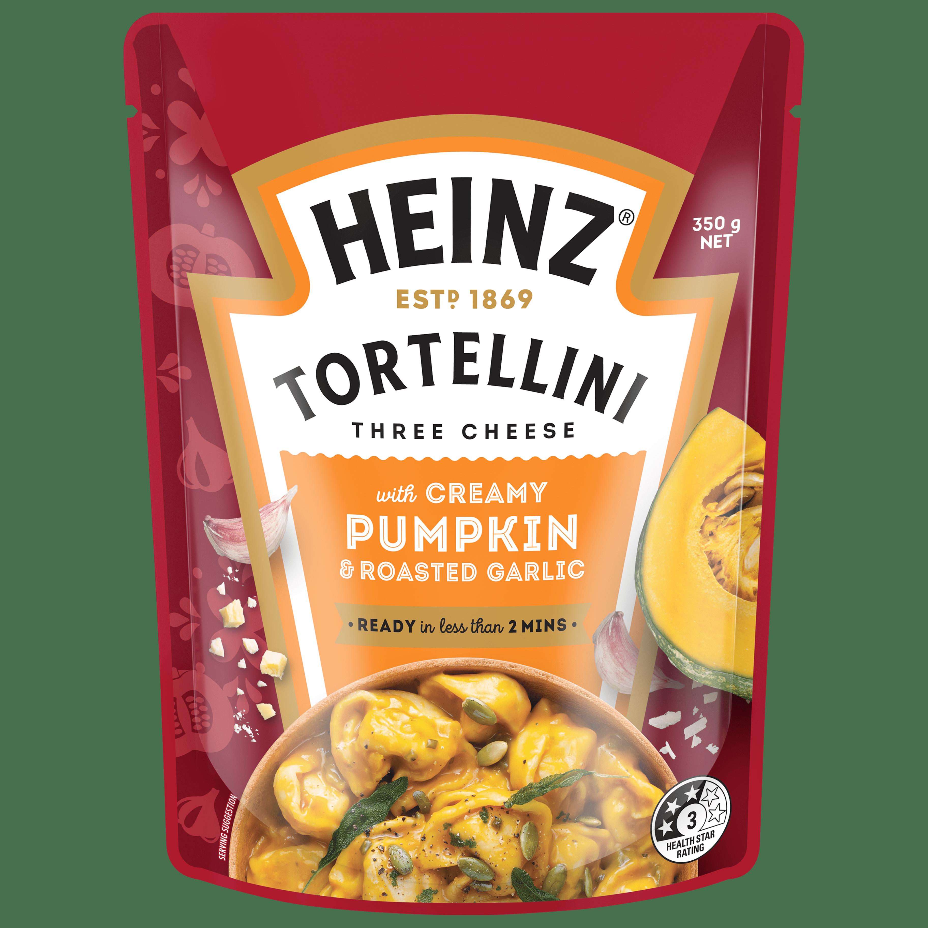 TORTELLINI CREAMY PUMPKIN