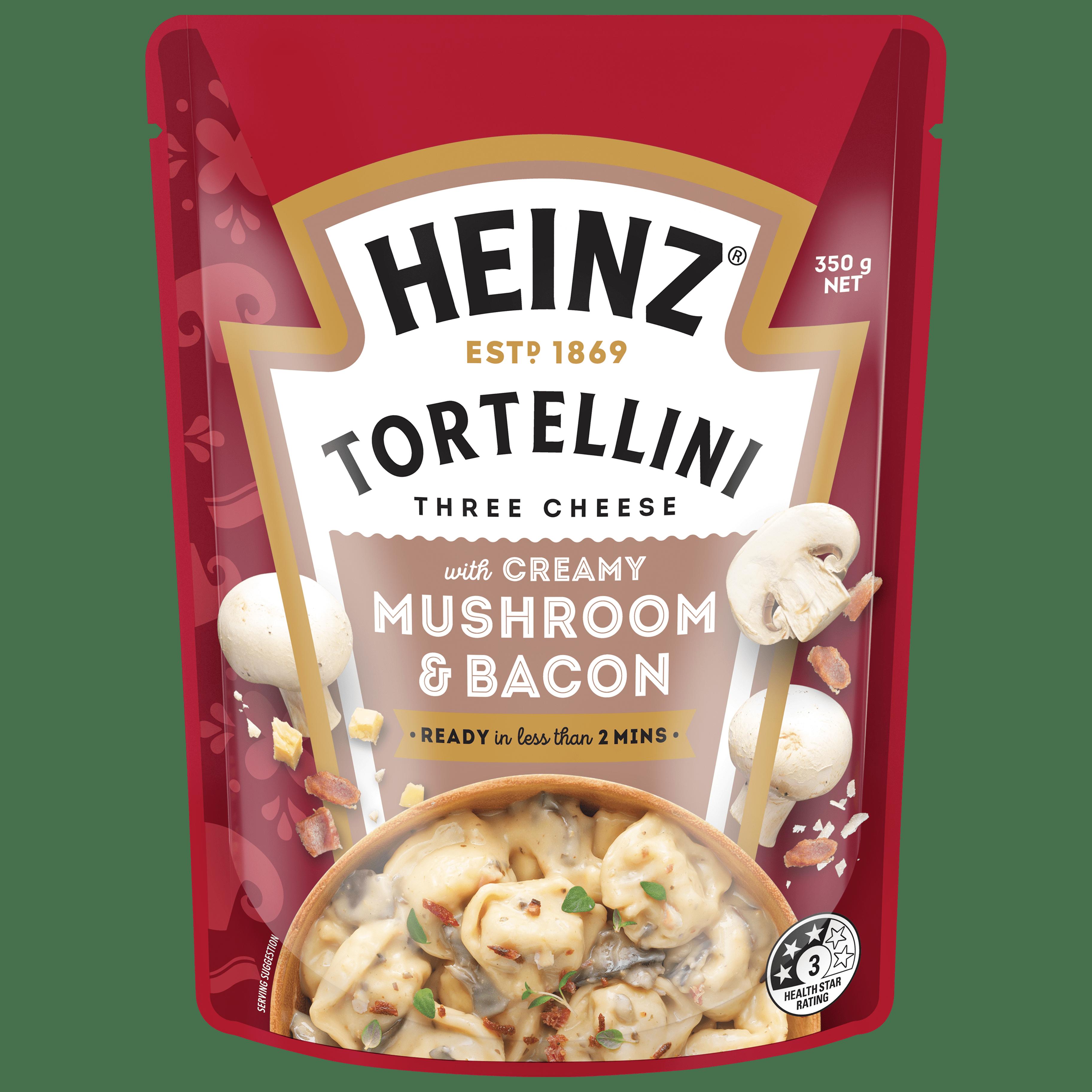 TORTELLINI CREAMY MUSHROOM