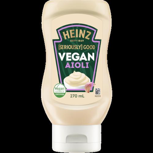 Heinz [Seriously] Good Vegan Aioli