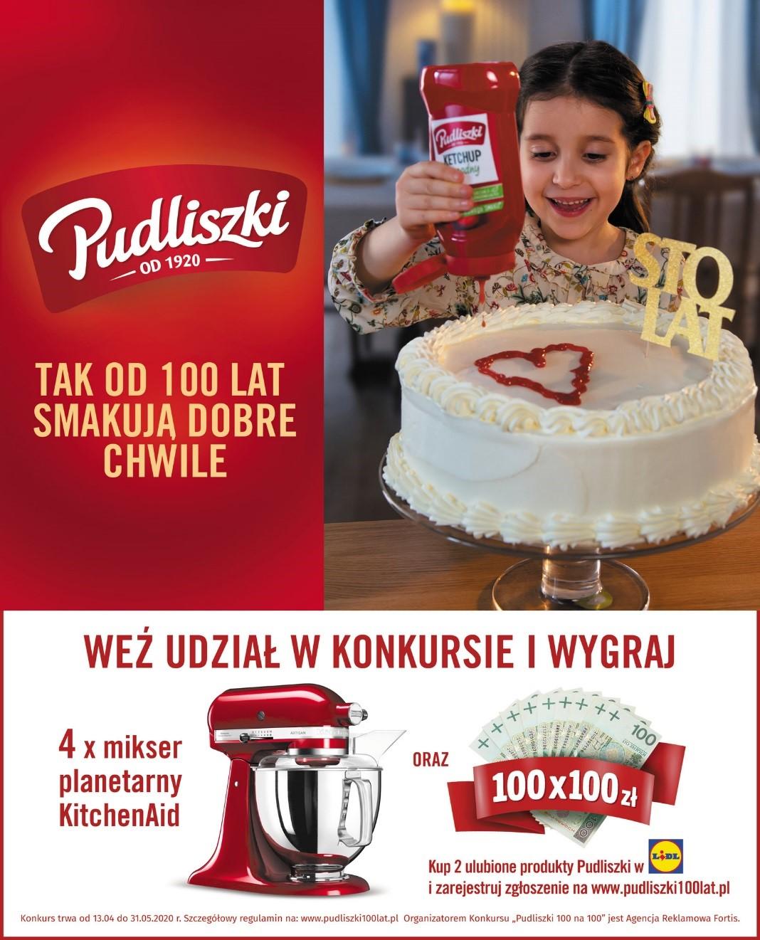 Konkurs na 100-lecie Pudliszek w sieci Lidl