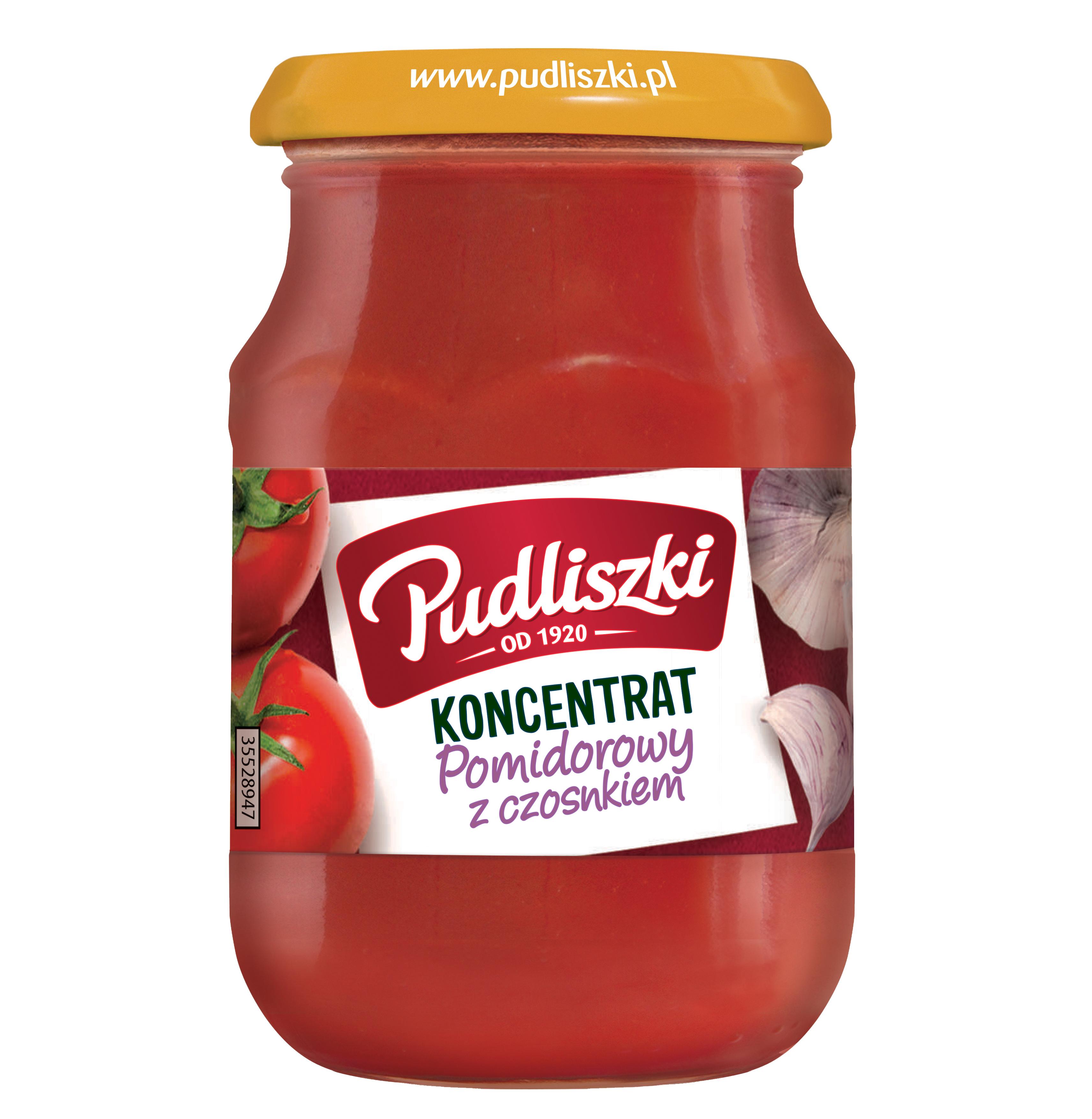 Koncentrat pomidorowy z czosnkiem 200 g