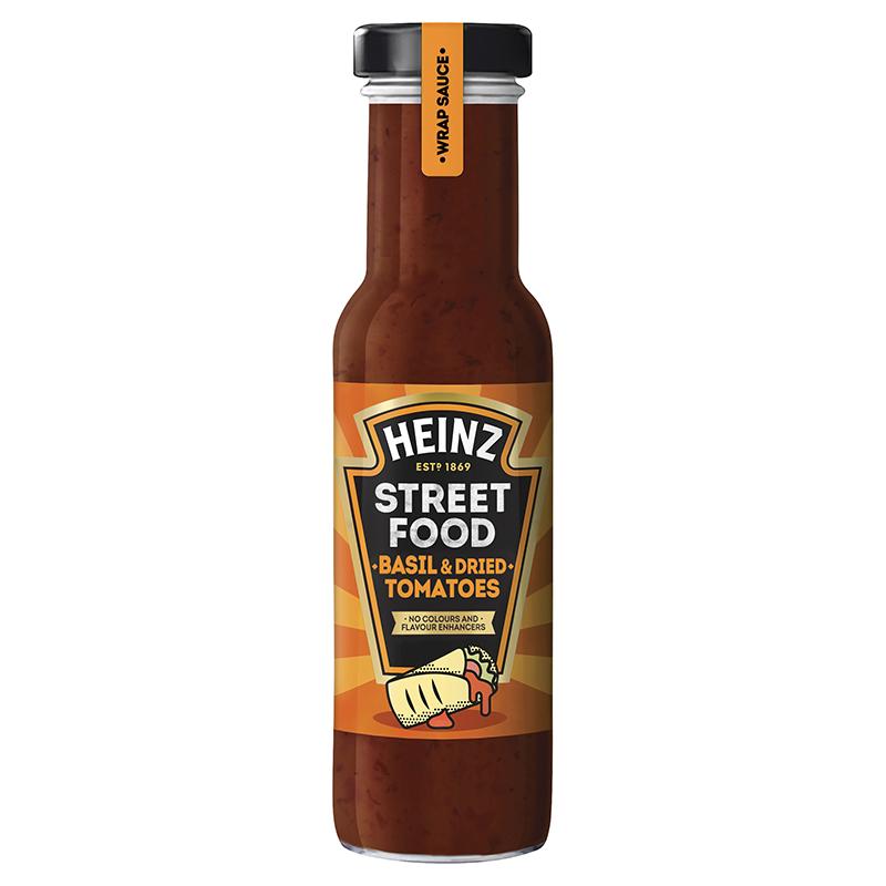 Heinz Sauce Streetfood au basilic et tomates séchées