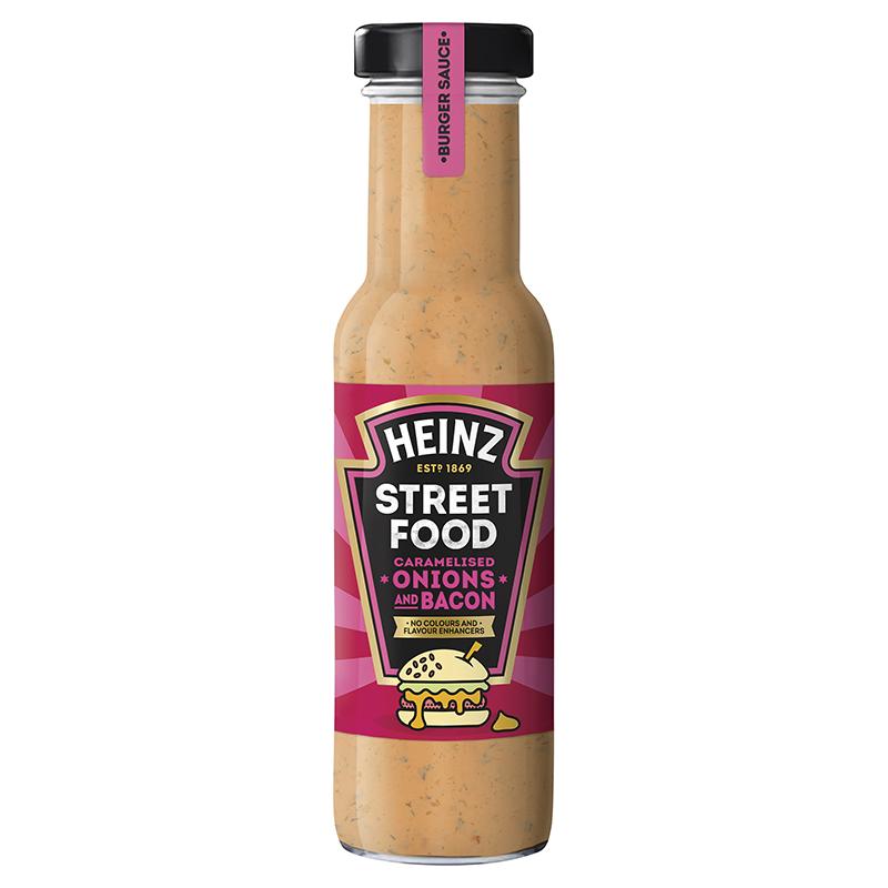 Heinz Sauce Streetfood Oignons caramélisés et bacon