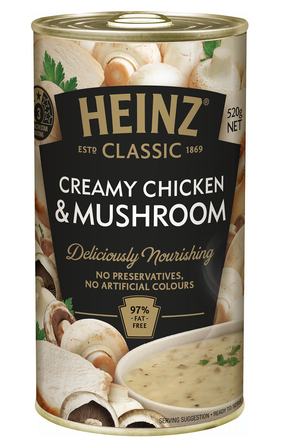 Heinz Classic Creamy Chicken and Mushroom Soup