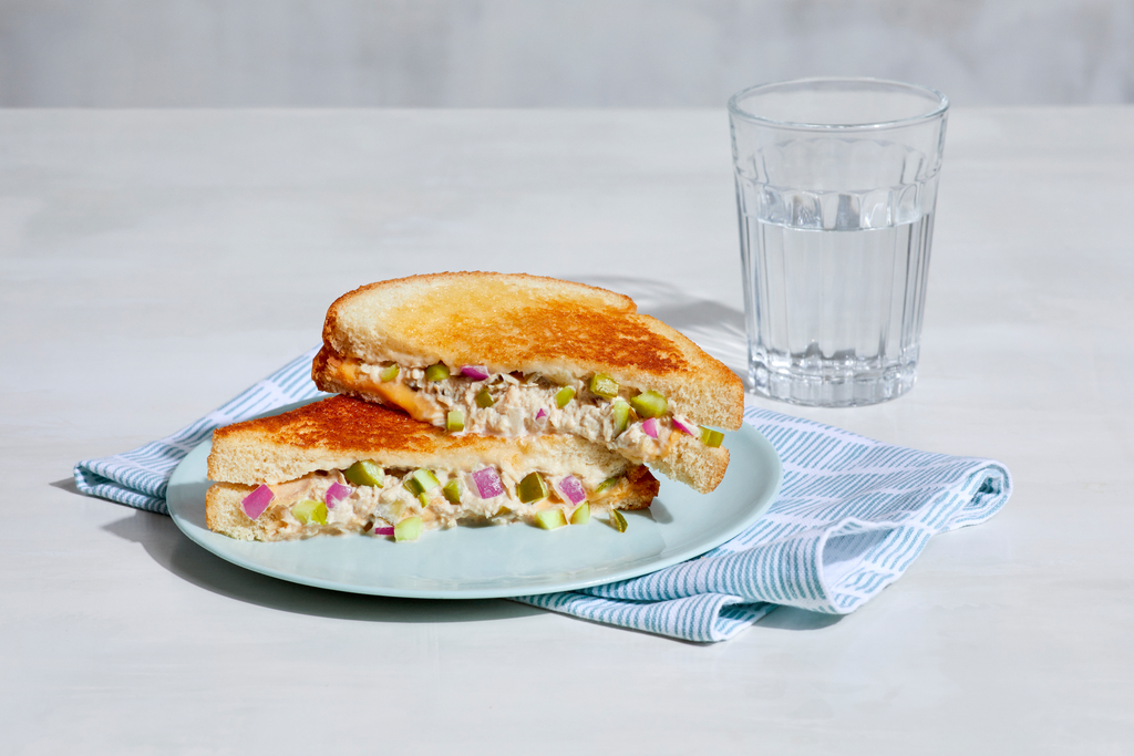 Dill Pickle Tuna Melt