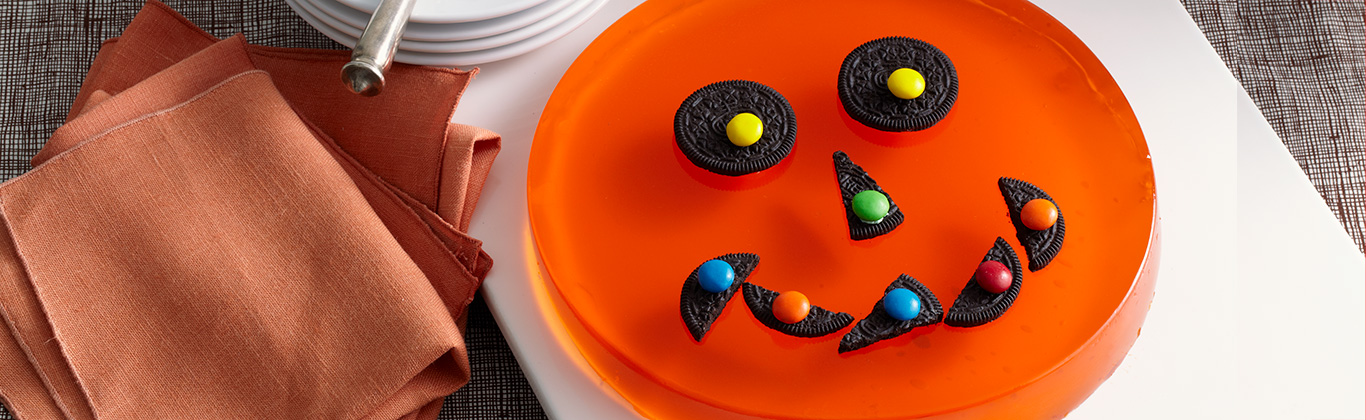 Citrouille d'Halloween JELL-O