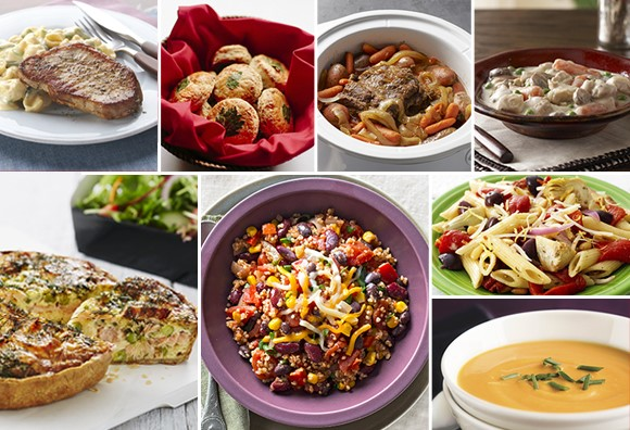 One Week of Dinners from Your Pantry