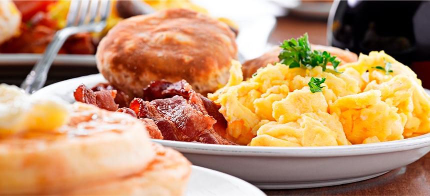 breakfast time menus