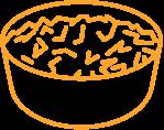 Des mélanges de chou croustillants recouverts de vinaigrettes colorées