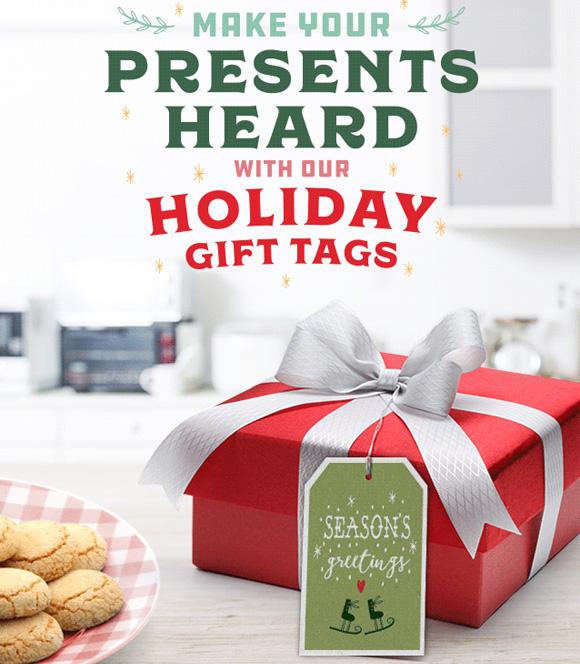 15 Beautiful Holiday Gift Tags
