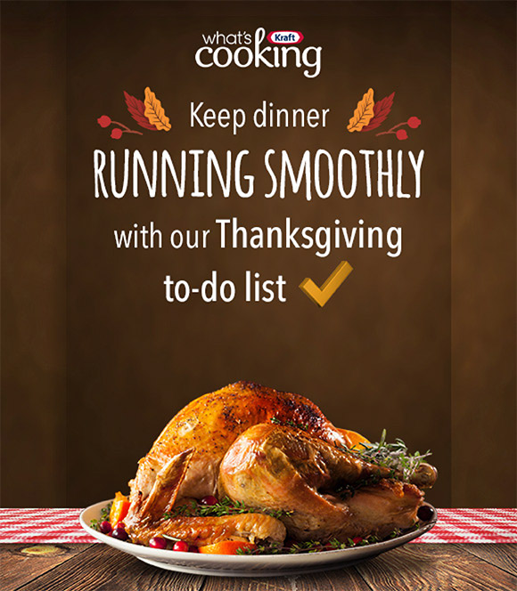 13 tasks to get ready for Thanksgiving