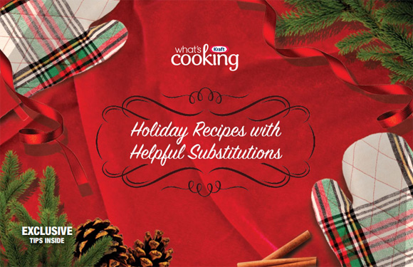 Holiday Recipes with Helpful Substitutions