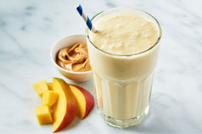 3 Peanut Butter Breakfast Smoothies