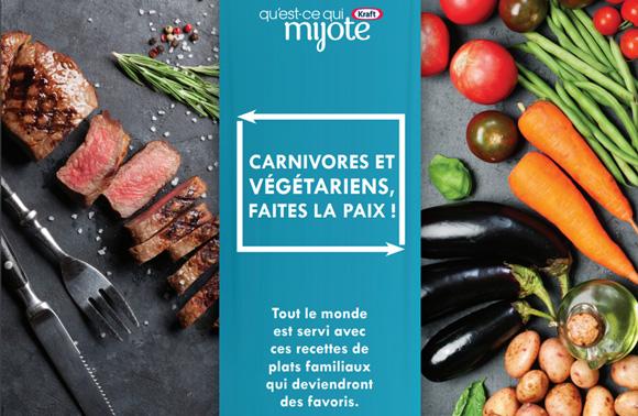 Carnivores et végétariens, faites la paix !