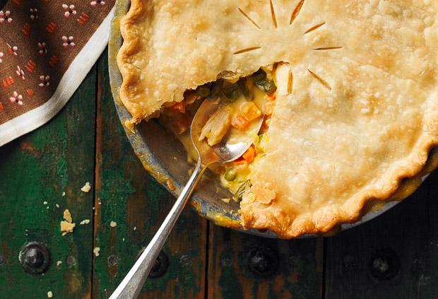 Zippy Turkey Pot Pie