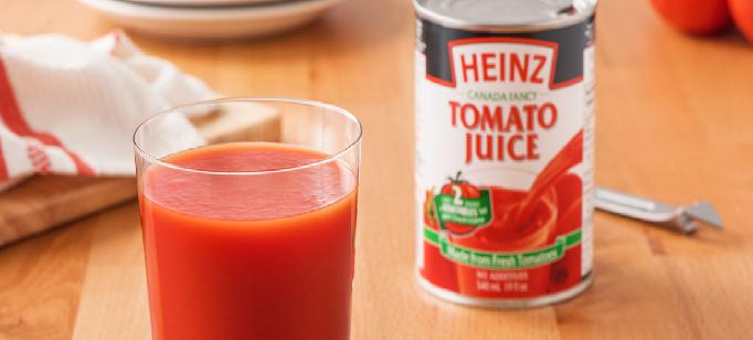 Jus de tomate Heinz - Category Banner Image