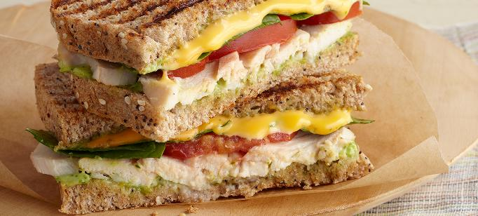 Panini & Grilled Cheese Sandwich Recipes - Category Banner Image